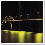 瀬底大橋夜景